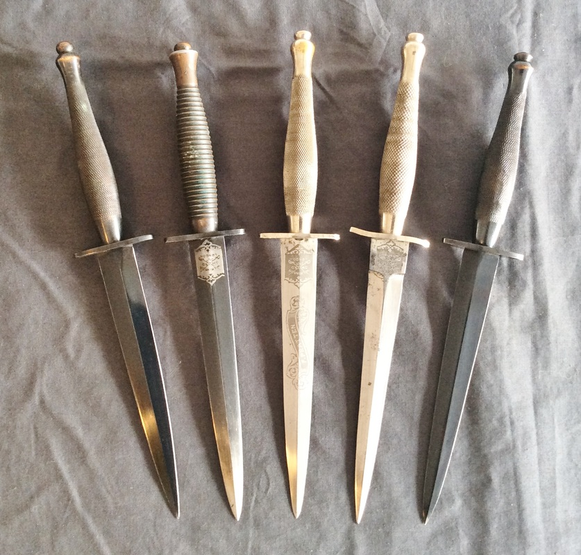 WW-II Commando Knives - The Fairbairn Sykes Fighting Knives